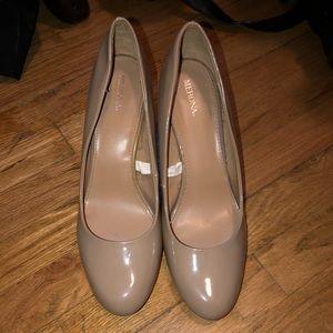 Nude Merona heels from target